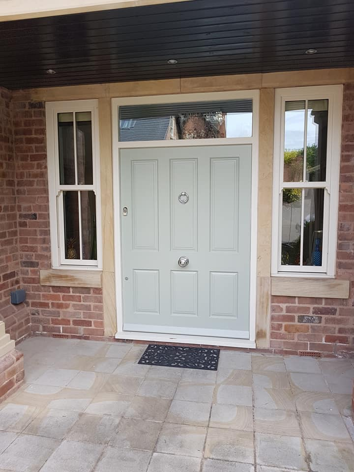 Front Door and Exterior Painting Bramcote Nottinghamshire