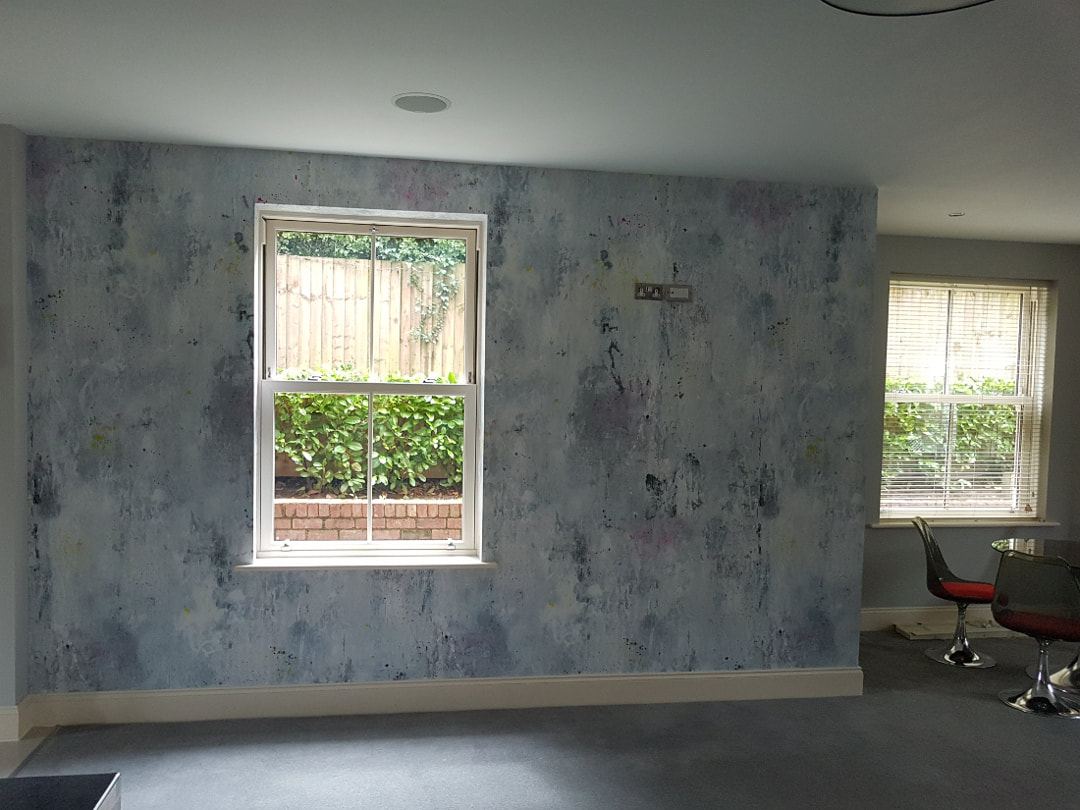 professional wallpaper hanging Bramcote Nottinghamshire